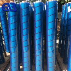 العرض الفائق 2.40 م من مادة PVC Clear Vinyl Tarp، غشاء شفاف من مادة PVC الشفاف