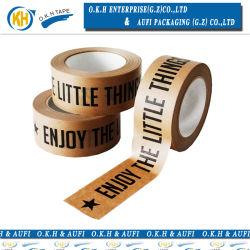 Cinta de papel Kraft de agua de mojado con la impresión de envases de Okh