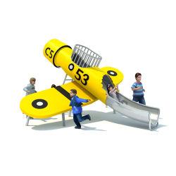 야외 놀이터 유형 어린이 놀이 장비 목재 비행기 사용자 지정