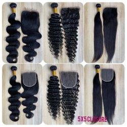 All'ingrosso Body Wave 12A brasiliano estensioni per capelli umani naturali