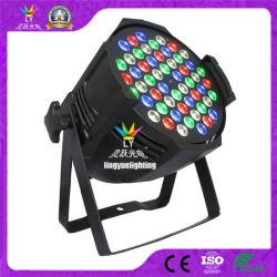 Fase DMX DJ Discoteca 54X3w RGBW LED PAR
