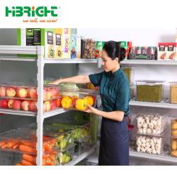Estanterías de almacén del supermercado y estantes para temperatura regulada cámaras frigoríficas y congeladores