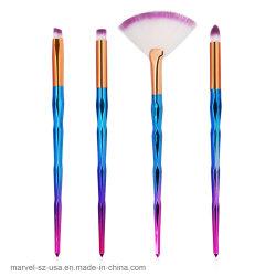 4pcs Eye Shadow Blush beauté composent l'outil Pinceau Pinceaux de maquillage