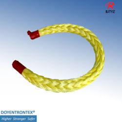 Net Rope UHMWPE Fiber Hmpe 원사를 위한 높은 집진 섬유