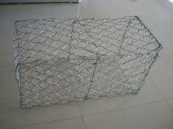 Luz quente galvanizado revestido de PVC/Caixa de gabião Gabião Cesta/gabião