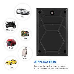 Resistente al agua magnética dispositivo GSM Tracker GPS de seguimiento para el alquiler de carretilla con alarma activo