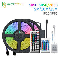Comercio al por mayor en el exterior IP65 de protección IP68 Flexible SMD 2835 RGB con impermeable más apartadas TIRA DE LEDS flexible neón