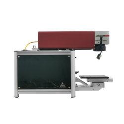 معدل تعطل منخفض، ماكينة علامة ليزر من الألياف صغيرة الحجم المعادن