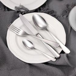중국 제조업체는 스테인리스 스틸 포크, 스푼 및 고급 식기류를 사용자 지정할 수 있습니다