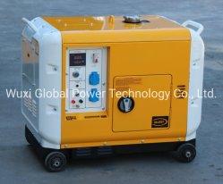 휴대용 디젤 엔진 발전기 세트 침묵하는 방음 열려있는 50Hz 60Hz 2kw 4kw 5kw 6kw 8kw 10kw 12kw