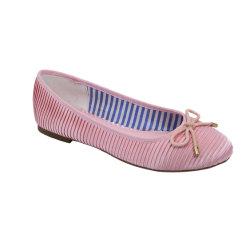 Zapato de baile bailarina lindos zapatos planos para niñas