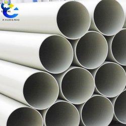 Salida de fábrica de cualquier tamaño de tubo redondo negro ABS PP PC PVC Tubo de plástico negro