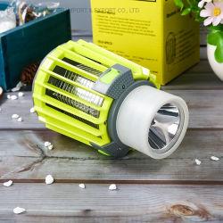 Lampe de poche étanche 3 en 1 LED Lampe Camping Mosquito Trap moustique inhalé Killer Chargeur USB