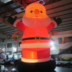 Надувные Рождество Санта Клауса, светодиодный индикатор надувные украшения рождественские мужчина