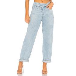 2020 neue Form-Frauen-Jean-Hosen dehnen dünnes hohes Denim Jean der Taillen-Dame-Jean Blue Casual Slim aus