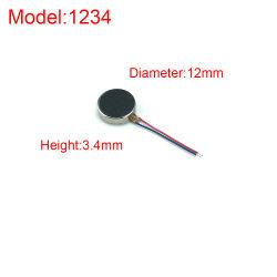 BEWEGUNGSschwingung-Hochgeschwindigkeitsmotor 1234 Gleichstrom-3V flacher Mikrofür Mobile