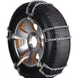 24.5 Las cadenas de neumático de camión 27X8 50X15 8 16 cadenas Las cadenas de neumático de rueda neumáticos Anti Skid Cadenas de Nieve