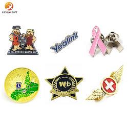 Disney Sedex Nbc ISO9001 y la fábrica certificada BSCI Logotipo personalizado traje decorativos zapatos hombres Leones Esmalte Bts Broche de flor de metal dorado Arco Iris insignia de solapa insignias