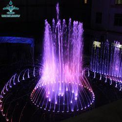 Piscinas exteriores de moda nova decoração dança música pequena fonte de água