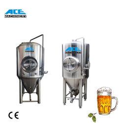 100L - de Kegel Roestvrije KoelGisters van Unitank van het Jasje 2000L/de Roestvrije KegelApparatuur van het Bier van de Gister