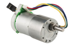 Il motoriduttore CC da 37 mm Micro 6 V può essere adattato all'encoder