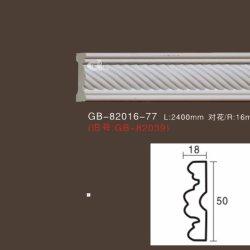 Aparejo de la fábrica de tallado de blanco las molduras de la Cátedra de moldeo por panel