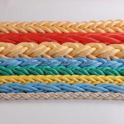 Cuerda de PP/PE/cuerda de poliéster de cuerda de nylon/Cuerda/Hmwpe/UHMWPE/Hmpe malacate de remolque remolque amarre Maine cuerda para el equipo de pesca