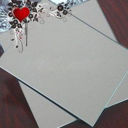 Le verre décoratif Silver-Aluminum Aluminum-Plated recto-verso Salle de bains avec miroir de la sécurité aucun cuivre transparent de lentilles de flottement