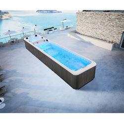 Piscina illimitata Mexda 10 metri piscina in acrilico lunga Vasche IDROMASSAGGIO