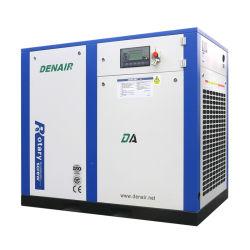 Diretto industriale stazionario economizzatore d'energia di corrente alternata Di standard dell'Europa guidato/coppia i compressori d'aria rotativi della vite con l'iso, il Ce, approvazione di gascromatografia