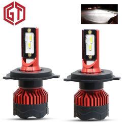 2つのPCS小型車のヘッドライトH7 LED H4 H1 H11 LEDの球根車はH3 9005を9006 H27 880 881のH8 Cspの自動フォグランプランプ12V 12000lmつける