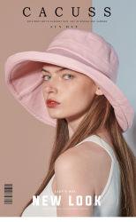 Tampa personalizada chapéu de sol de Verão, Visor Hat, Ultraviolet-Proof Pac, Grande Plano Rasante Pac