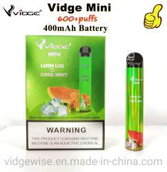 سعر المصنع بالجملة Vidge ميني يمكن التخلص منه من السجائر الإلكترونية قلم القرد بادئ تشغيل مجموعة مبخرة بطارية سعة 400 مللي أمبير/ساعة