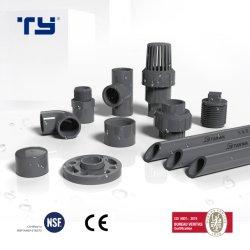 Gomito/T/accessorio per tubi trasversale dei prodotti del PVC Cutomized di BACCANO PVC/Plastic Pn10 Pn16