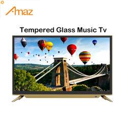 تلفزيون LED موسيقي بشاشة مسطحة بألوان متعددة بحجم 32 بوصة مع أفضل الجودة