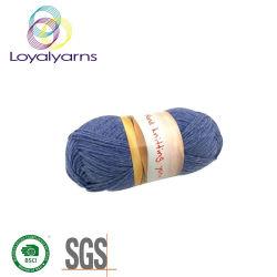 크로셰 뜨개질 모자 스카프 Ly P317를 위한 Pilling 반대로 땅딸막한 연약한 재생된 폴리에스테 또는 아크릴 또는 나일론 또는 모직에 의하여 혼합되는 손 뜨개질을 하는 털실
