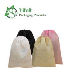حقيبة قابلة للطي غير منسوجة وحقائب السفر ذات التغليف يمكن بيعها بسهولة للأحذية/مستلزمات استحمام