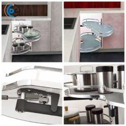 角の容器の台所収納キャビネット900の柔らかい完了の振動皿