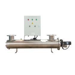 320W 25m3/H Esterilizador de água UV com Alojamento do reator SS