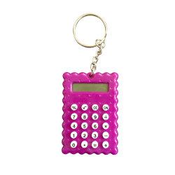 Trade Show Événements cadeaux promotionnels Mini-calculatrice de chaîne de clé
