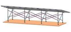 Magnesiumlegering Sheet Solar Farm System Power 1MW Hot DOMPEL DE galvaniserende plant
