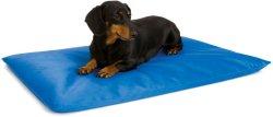 Lit pour chien de refroidissement antibactérien Non-Toxic chien Tapis de refroidissement
