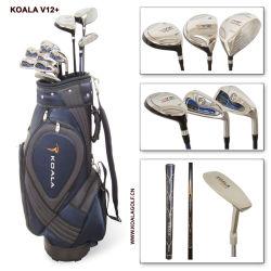 Set di alta qualità professionale da golf da uomo in lega di fibra di carbonio Moda durevole con borsa Stand Golf Club maschile