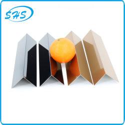 ステンレス鋼製 V プロファイル角(ウォールコーナー保護用)