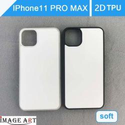 iPhone 11 des maximalen 2D TPU Telefon-Kasten/Deckel Sublimation-Proleerzeichen-für Wärmeübertragung-Drucken