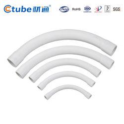 Toma de 25mm Sweep Bend Accesorios Conduit de PVC de 90°