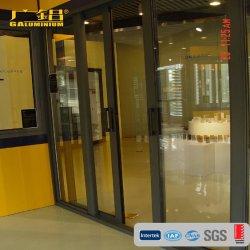 De Schuifdeur van het Glas van het aluminium (aluminium commerciële schuifdeur)