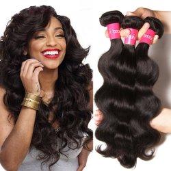i capelli di Remy del Virgin 10A impacchettano i capelli umani dei Peruvian di 100% del commercio all'ingrosso brasiliano naturale del tessuto