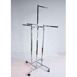 4-пути хромированная ткани высокого качества отображения стоек с помощью колеса