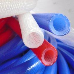 Tubo flessibile personalizzato in treccia colorato rinforzato in silicone